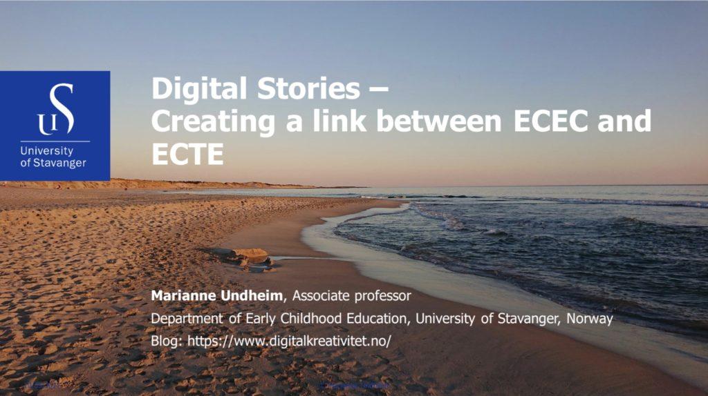 digitale fortellinger i barnehagen